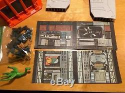 Vintage Star Wars Death Star Playset Near COMPLETE Kenner
