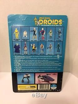 Vintage Star Wars Droids Cartoon C-3po See-threepio Figure Carded Kenner Rare