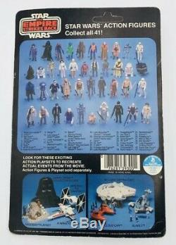 Vintage Star Wars ESB Han Solo Bespin Outfit MOC Unpunched 41 D Back With Case