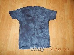 Vintage Star Wars Episode I QUI GON ANAKIN OBI WAN Liquid Blue Shirt Size M