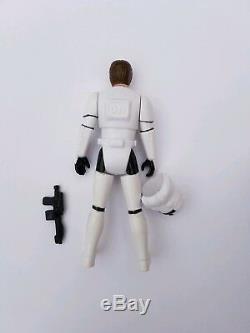 Vintage Star Wars Figure Custom Han Solo Stormtrooper POTF Cardback
