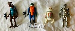Vintage Star Wars Figure Lot with Variants and Weapons