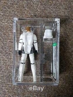 Vintage Star Wars Figure Luke Skywalker Stormtrooper AFA 85 Not UKG
