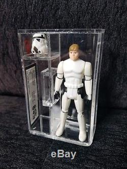 Vintage Star Wars Figure, Luke Stormtrooper Last 17, UKG 85% Not AFA graded