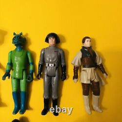 Vintage Star Wars Figures Lot. 27 in total. Accessories all original. No Repro