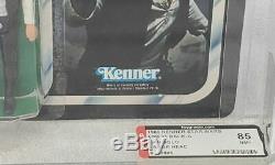 Vintage Star Wars Han Solo AFA 85 Empire Strikes Back 31 back A card RARE