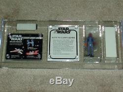 Vintage Star Wars Kenner 1979 AFA 85 RARE BOBA FETT MAILER BOX Small Catalog