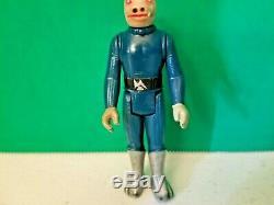 Vintage Star Wars Kenner Blue Snaggletooth, Toe Dent
