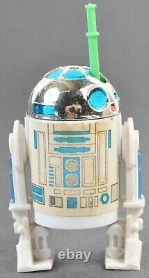 Vintage Star Wars Kenner POTF R2-D2 Last 17 Pop-up Saber Complete No Repo Rare