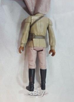 Vintage Star Wars LANDO CALRISSIAN GENERAL PILOT last 17 POTF 1985 COMPLETE