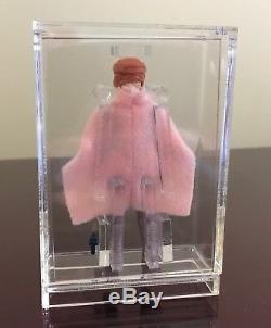 Vintage Star Wars Leia Pink Combat Poncho Unpainted First Shot Prototype
