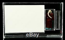 Vintage Star Wars Lili Ledy Burgundy Cape Bib Fortuna Figure UKG Graded 80 w COA