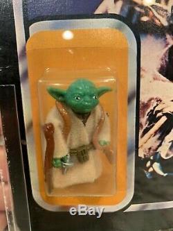 Vintage Star Wars Lili Ledy Yoda AFA Moc