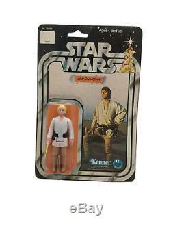 Vintage Star Wars Luke Skywalker 12-back MOC