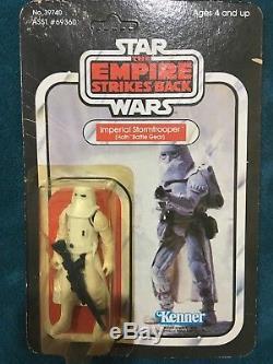 Vintage Star Wars MOC LOT ESB ROTJ Imperial Stormtrooper Biker Scout Royal Guard