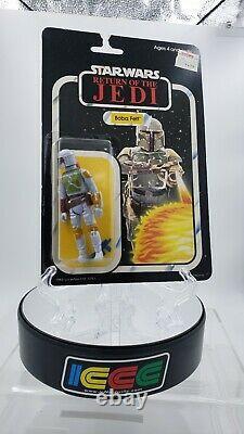 Vintage Star Wars PBP/Tri Logo 65 Back Palitoy Boba Fett! NOT TOY TONI