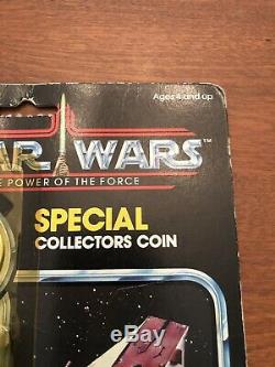 Vintage Star Wars POTF 92 A-Wing Pilot MOC Power of the Force Last 17 ORIGINAL