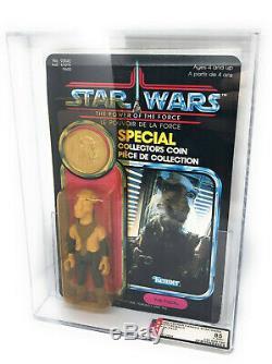Vintage Star Wars POTF YAK FACE / Last 17 MOC AFA UKG 85 subs 80/85/90