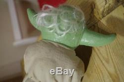 Vintage Star Wars Palitoy Yoda Hand Puppet Boxed