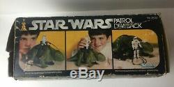 Vintage Star Wars Patrol Dewback Boxed 1979 Kenner Original Issue