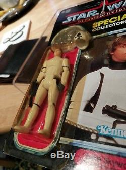 Vintage Star Wars Potf Luke Skywalker In Stormtrooper Disguise Carded Figure