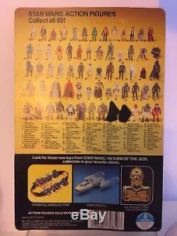 Vintage Star Wars Princess Leia Boussh Disguise ROTJ moc Kenner Factory Sealed