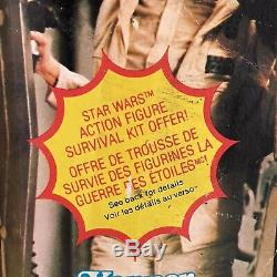Vintage Star Wars Princess Leia Hoth Outfit MOC 41-Back 1980 Kenner Canada
