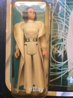 Vintage Star Wars, Princess Leia, White Cape, ROTJ, MOC, Unpunched, Hard To Find