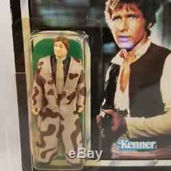 Vintage Star Wars Prototype ROTJ Han Solo Trenchcoat SAMPLE MOCKUP 77-Back