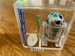 Vintage Star Wars R2-D2 Pop-Up Lightsabre POTF Last 17 Figure 1984 U90 Grade
