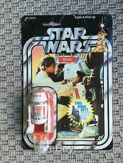 Vintage Star Wars R5D4 Carded Figure Moc