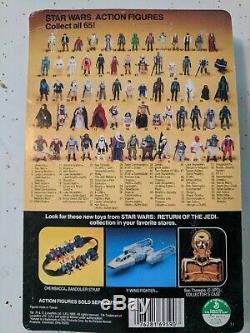 Vintage Star Wars ROJ Jedi Luke Skywalker Action Figure MOC unpunched card