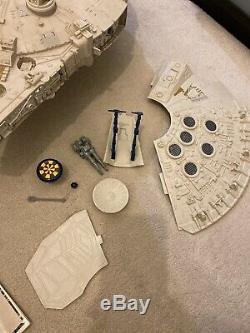Vintage Star Wars ROTJ 1979 Kenner Millenium Falcon, Working Electrics