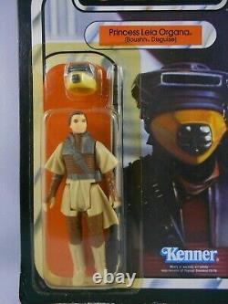 Vintage Star Wars ROTJ 1983 Leia Boushh Disguise Nice MINMP COO HK Kenner