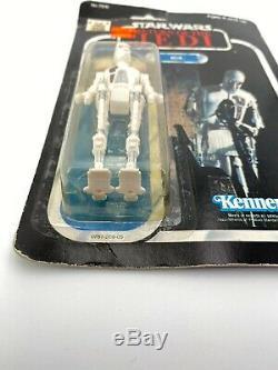Vintage Star Wars ROTJ 8D8 MOC 77-Back Kenner 1983