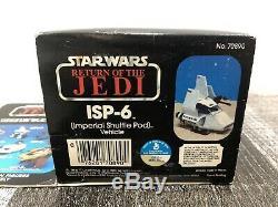 Vintage Star Wars ROTJ ISP-6 Mini Rig MISB 1983 Imperial Shuttle Pod NEW Sealed