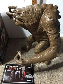 Vintage Star Wars ROTJ Rancor Monster Kenner