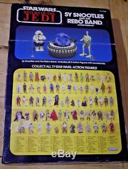 Vintage Star Wars ROTJ Sy Snootles and the Rebo Band Boxed
