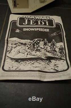 Vintage Star Wars ROTJ Trilogo Snowspeeder Boxed Palitoy