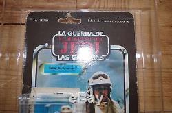 Vintage Star Wars Rebel Commander Lili Ledy AFA 75% Carded