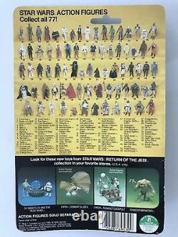 Vintage Star Wars Return Of The Jedi OBI-WAN KENOBI ACTION FIGURE 77 BACK MOC