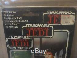 Vintage Star Wars Tri Logo Han Solo AFA 80 Archival
