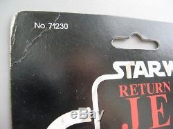 Vintage Star Wars WICKET MOC card action figure Kenner COMPLETE CARDED ORIGINAL