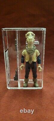 Vintage Star Wars Yak Face 1985 Last 17 UKG (UK AFA Graded) 80%