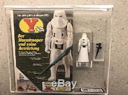 Vintage Star Wars Yps Hoth Stormtrooper With comic Afa Ukg 80