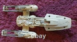 Vintage Y-Wing Fighter With Original Box & Instructions, 1983. Kenner, Star Wars