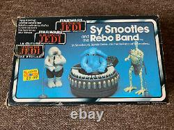 Vintage star wars max rebo band Boxed complete