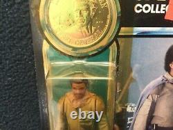 Vtg Star Wars POTF Lando Calrissian (General Pilot)Spec Collectors Coin 1984 MOC