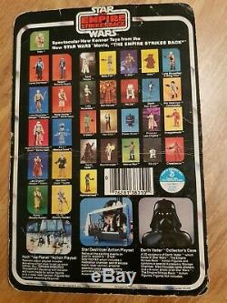 Yoda Star Wars Kenner Vintage moc beater 32 back empire strikes back figure